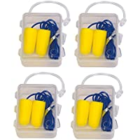 Ohrstöpsel Gehörschutz aus Schaumstoff mit Verbindungsschnur, 4x2 Stück preisvergleich bei billige-tabletten.eu