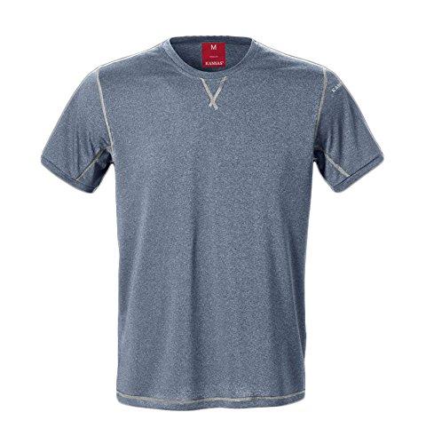 Kansas T-Shirt 7455 LKN in Dunkelblau, Gr. XXXXL
