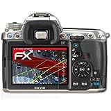atFoliX Anti-casse Protecteur d'écran Ricoh Pentax K-3 II Anti-choc Film Protecteur - Set de 3 - FX-Shock-Antireflex