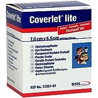 Coverlet Lite Augenokklusionspflaster 55x76 mm, 40 St preisvergleich bei billige-tabletten.eu