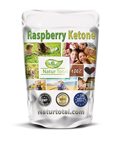 Raspberry Ketone Kapseln 250 Stück Bigpack reine Himbeer-Ketone schnell Ihren Stoffwechsel zu steigern