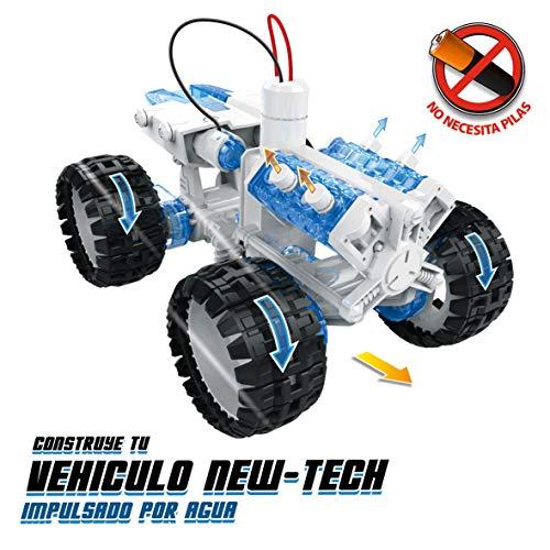 Xtrem Bots- Construye tu Vehículo New Tech, Color Blanco (World Brands XT380817)