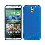 BlueTrade BT-TPU-HD610L Coque en TPU pour HTC Desire 610 Bleu 0 Bleu