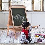 COSTWAY Kindertafel Standtafel Standkindertafel Schultafel Maltafel Staffelei Schreibtafel von COSTWAY