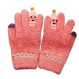 Baby Süß Verdicken Nähen Karikatur Mädchen Jungen Winter Warm Handschuhe Kinder Handschuhe Gloves Fäustlinge Fausthandschuh Skihandschuh Snowboarding Halshandschuhe