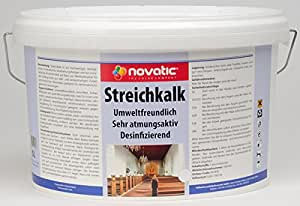 novatic Streichkalk, weiß, 10ltr