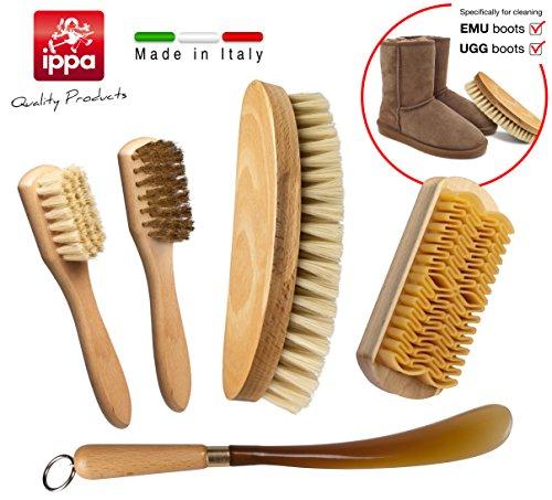 set-per-la-pulizia-e-la-cura-delle-scarpe-spazzolino-spandilucido-in-setola-bionda-spazzolino-in-ott