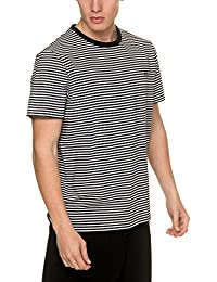 Fred Perry Authentics Fine Stripe Crew Neck T-shirt
