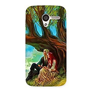 NEO WORLD Remarkable Couple Under Tree Back Case Cover for Moto X