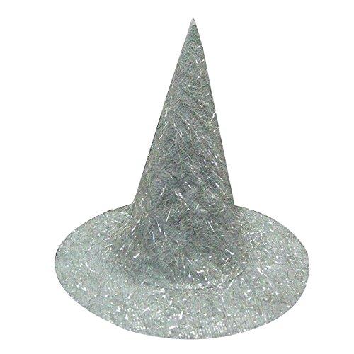Ularma Sombrero de bruja para Halloween, bonito traje accesorio diablo Cap (color al azar)