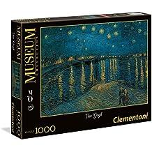 Clementoni 39344 - Puzzle Museum, Orsay Van Gogh, 1000 Pezzi, Multicolore