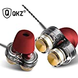 QKZ KD7 Dual Driver Extra Bass In-Ear Wired Headphones Compatible With All 3.5 Mm Jack Dual Driver In-Ear Headphone With Mic