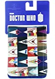 Doctor Who Wallet - 12 Doctors Block Design