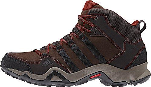 Adidas Brushwood Mid Chaussure randonnée, fond vert / noir / minuit, nous 6 M Espresso / Black / Titan Grey