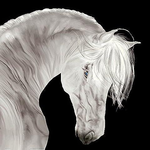 Maman Fils Halloween - Startonight Impression Sur Verre Acrylique Blanc Beau