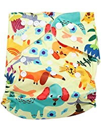 Bebé reutilizable Pañales de natación Lavable Bañador ajustable Pañal Ropa interior Suave Transpirable Impermeable Unisex Pantalones de piscina para niños (BL012)