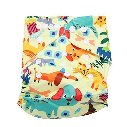 Bebé reutilizable Pañales de natación Lavable Bañador ajustable Pañal Ropa interior Suave Transpirable...