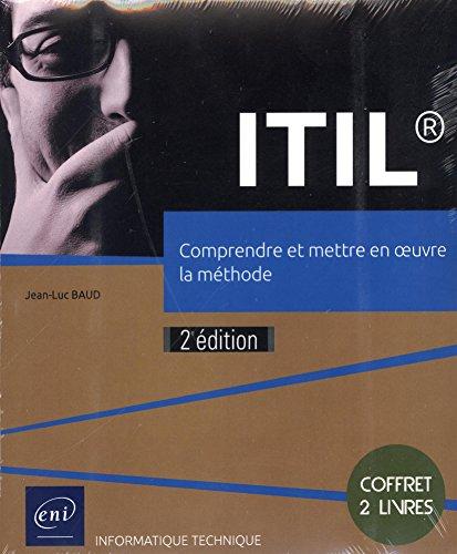 ITIL® - Coffret de 2 livres : Comprendre et mettre en oeuvre la méthode (2e édition) par Jean-Luc BAUD