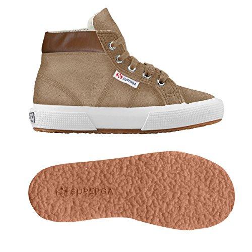 Superga - 2204 - Suej, Pantofole a Stivaletto Unisex – Bambini Lt Brown