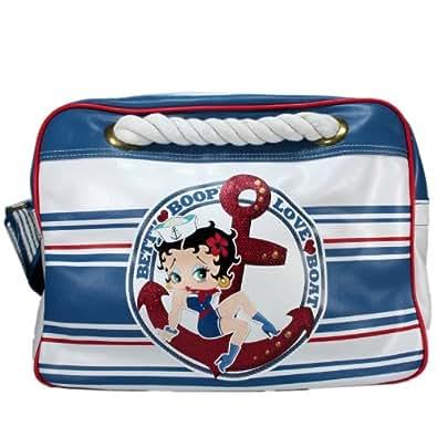 "Disney Betty Boop ""Love Boat"" Messenger Bag womens handbag Carry Bag"
