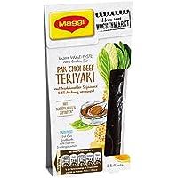 Maggi Ideen vom Wochenmarkt, Pak Choi Beef Teriyaki (Würz-Paste zum Braten, mit Soja-Sauce, ideal für Wok-Gerichte) 1er Pack (1 x 87ml)