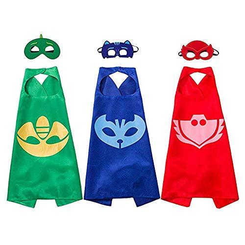 HUANDATONG Spielzeug für 5-13 jährige Jungen, Cartoon Hero Mask Kostüme für Kinder Spielzeug für 5-13 jährige Mädchen 5-13 jährige Jungen Mädchen Geburtstagsgeschenk Halloween Kostüme (Kostüm Für Jungen Und Mädchen)