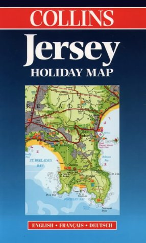 Jersey Holiday Map. 1/35 000 par Harper Collins Publishers, HarperCollins