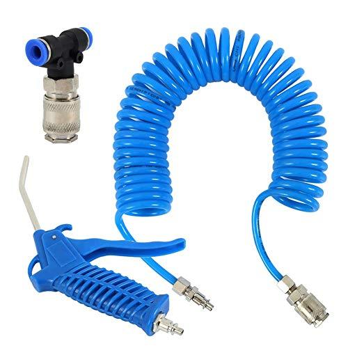 yangGradel Luft Staub Entferner Spray Werkzeug Schlauch Lastwagen Staub Gebläse Sauber Düse Schlag Werkzeug Kit für Auto Lack Spray - 8mm (8mm Kugel-anschluss)