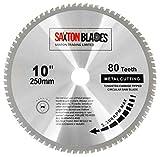 Saxton TCT TCT25080TMB Lame de scie circulaire pour métaux, acier, aluminium et...