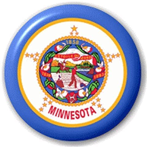 MINNESOTA US STATE – 25 MM PIN BUTTON