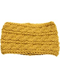fbc8cbded13444 ASHOP Damen Wolle Stricken Häkeln Twist Stirnband Stirnbänder Headbands  Haarband Kopfband Ohrwärmer ...