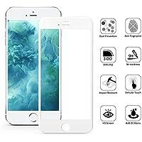 Verre Trempe iPhone 6 Plus / 6S Plus - Film Blanc 100% Intégral 3D Protection Ecran Verre Trempe Glass Screen Protector Tempered Ultra Resistant Vitre Ecran Protecteur Anti Rayure Sans Bulle d'Air Dureté 9H Ultra Mince Phonillico®