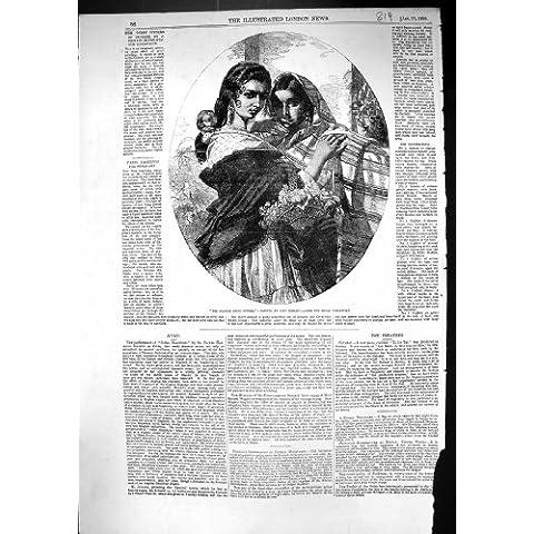 Colección Gitano-Hermana-Real Española Juan del Retrato Antiguo de la Impresión