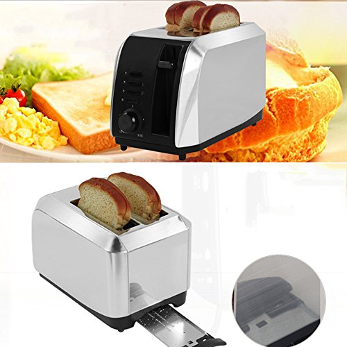 Bread machine LVZAIXI Home Toaster 2 Toasters Automatic Multi-functional Breakfast