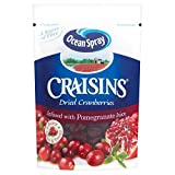 Ocean Spray Pomegranate Infused Craisins (150g) - Pack of 2