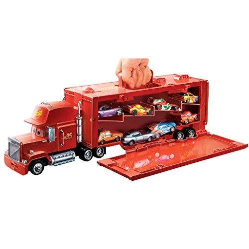 Disney MACK camion 43cm trasportatore modellini auto cars con saetta mcqueen originale mattel