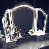 Mirror Light Strip, Kit d'éclairage à Del pour Miroir de lavabo, 13 pi (4 M),...