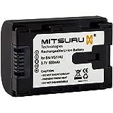 Mitsuru® batterie de remplacement pour JVC BN-VG114 BNVG114 compatible avec JVC Everio GZ-E100 GZ-E105 GZ-E200 GZ-E205 GZ-E209 GZ-E300 GZ-E305 GZ-EX210 GZ-EX215 GZ-EX310 GZ-EX315 GZ-EX510 GZ-EX515 GZ-G5 GZ-GX1 GZ-GX3 GZ-GX5 GZ-HD500 GZ-HD510 GZ-HD520 GZ-HD620 GZ-HD660 GZ-HM300 GZ-HM320 GZ-HM330