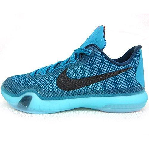 Jugend Jungen Kobe X GS Independence Day 10 Basketball-Schuhe Teal (Jugend-nike Schuhe)