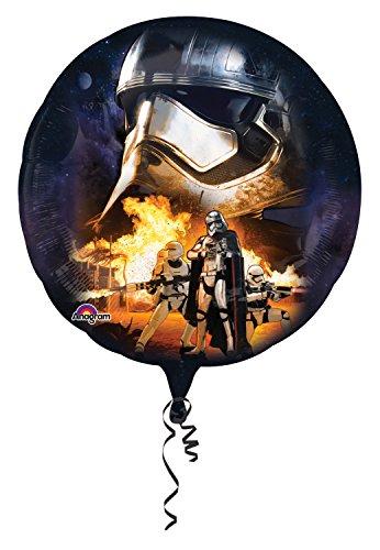 Anagram 3162301 - Folienballon Super Shape, Disney Star Wars Episode VII, Stormtrooper, 81 x 81 cm