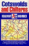 The Cotswolds and Chilterns Road Map (A-Z Road Maps & Atlases)