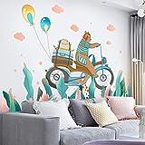 Voyage Papier Peint Auto-Adhésif Créativité Personnalité Disposition De La Chambre Décorations Dortoir Salon Stickers Muraux