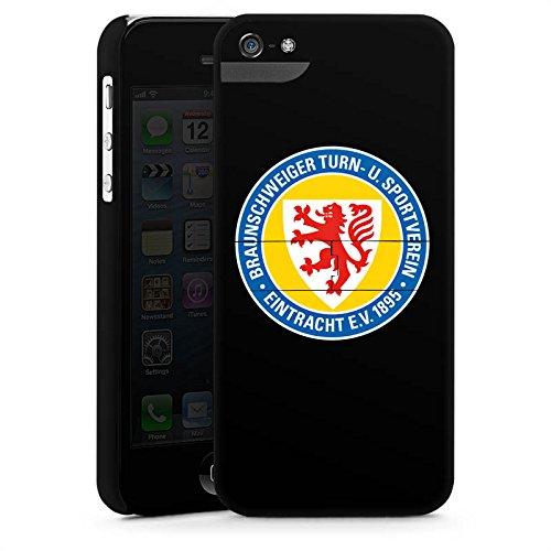 Apple iPhone X Silikon Hülle Case Schutzhülle Eintracht Braunschweig Fanartikel Fussball Premium Case StandUp
