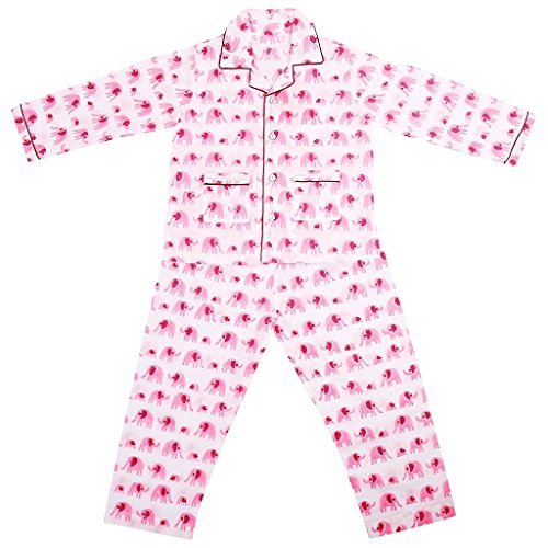 Malvina Assorted Printed And Color Cotton Full Sleeves Night Suit for Kids (12-13yrs)