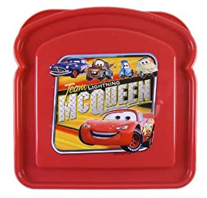 Disney Pixar Team Lightning McQueen Cars Sandwich Box - Disney Cars Food Container