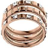 DKNY Damen-Ring Edelstahl Kristall Glaskristall NJ2121791-6.5