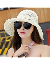 ERLINGSAN-MZ Gorros De Mujer Escapada De Verano-Gorra De Playa Visera  Sombrero De… 54953cca518
