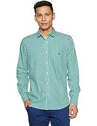 Van Heusen Sport Men's Plain Slim Fit Cotton Casual Shirt - B079LC9J22