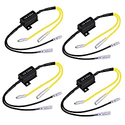 4 x Widerstand Leistungswiderstand Lastwiderstand Motorrad Blinker LED Ladewiderstand Flash Blinker Fix Fehler 12V 25W 6.8Ohm