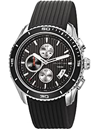 Esprit Collection Herren-Armbanduhr Hedone Chronograph Quarz Kautschuk EL102111F01